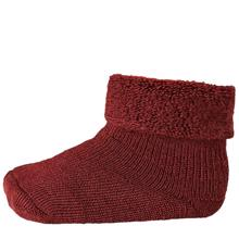 MP 722 Wool Terry Socks 1005 Bordeaux