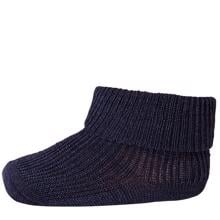 MP 59012 Wool/Silk Socks Mono 590 Navy