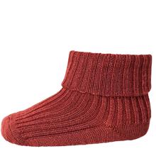 MP Wool Socks Rib Bordeaux