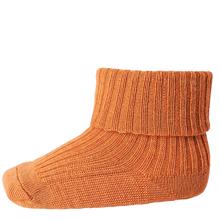 MP Wool Socks Rib Burned Orange