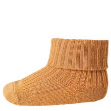 MP Wool Socks Rib Bronze