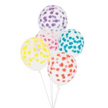 My Little Day Dot Multicolor Balloons 5 pcs