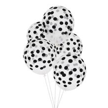 My Little Day Dot Black Balloons 5 pcs