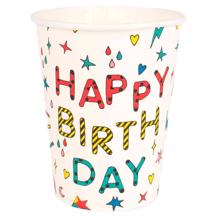 My Little Day Happy Birthday Cups