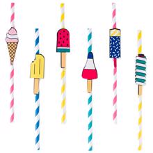 My Little Day Ice Cream Straws 8 Pcs