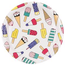 Meri Meri Plate Ice Cream  8 Pcs