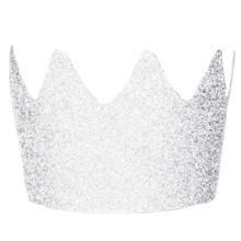 My Little Day 8 Glitter Crowns Silver