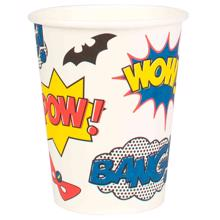 My Little Day Super Hero Cups  8 Pcs