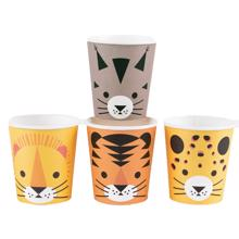 Meri Meri Cups Mini Felines  8 Pcs