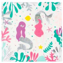 Meri Meri Napkin Mermaid 20 Pcs