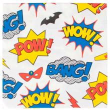 My Little Day Napkin Super Hero 20 Pcs