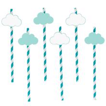 My Little Day 12 Paper Straws (clouds)