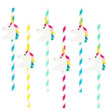My Little Day Unicorn Straws 8 Pcs