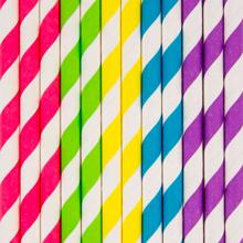 My Little Day Multicolor Straws 8 Pcs