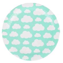 My Little Day 8 Paper Plates (clouds)