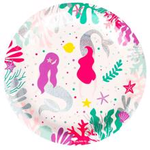 My Little Day Plate Mermaid 8 Pcs