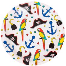 My Little Day Plate Pirate 8 Pcs