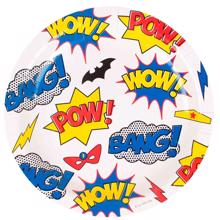 My Little Day Plate Super Hero 8 Pcs