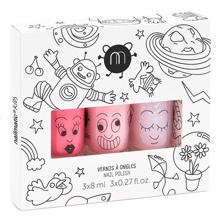Nailmatic Nail Polish Water-based 3 Pack Party Cookie/Bella/Polly