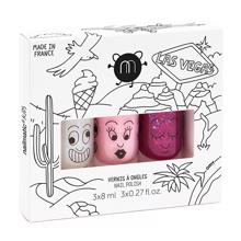 Nailmatic Nail Polish Water-based 3 Pack Las Vegas Super/Bella/Sheepy