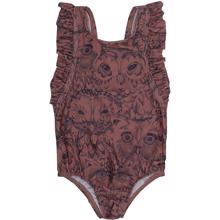 Soft Gallery Baby Burlwood Owl Ana Swimsuit