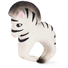 Oli & Carol Bracelet in Nature Rubber Zoe the Zebra