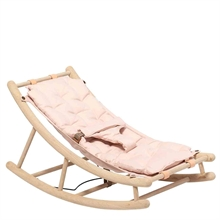 Oliver Furniture Wood Baby & Junior Rocking Chair Oak/Rose