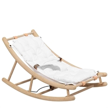 Oliver Furniture Wood Baby & Junior Rocking Chair Oak/White