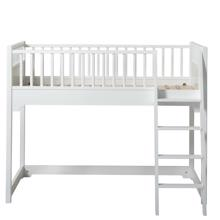 Oliver Furniture Seaside Half High Bed Junior White