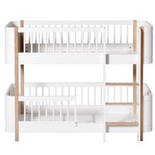 Oliver Furniture Wood Mini+ Bunk Bed White/Oak