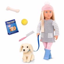 Our Generation Doll - Meagan w. Dog