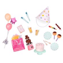 Our Generation Doll Accessories - Birthday Party