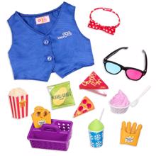 Our Generation Doll Accessories - Cinema Snacks
