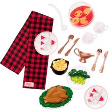 Our Generation Doll Accessories - Christmas Dinner