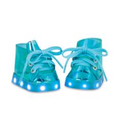 Our Generation Doll Shoes w. Light Blue
