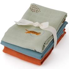 OYOY Muslin Squares 3-pack Tiger