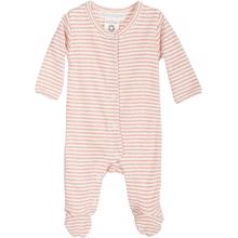 Serendipity Newborn Stripe Suit Clay/Offwhite