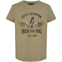Petit by Sofie Schnoor Army Green T-shirt