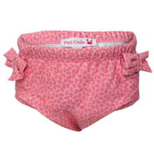 Petit Crabe Floral Soft Rose Swim Pants 21-FLO/SR
