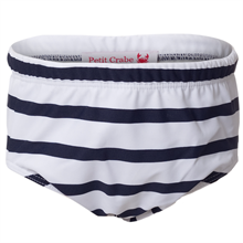 Petit Crabe Blue/White Swimpants