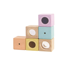 PlanToys Activity Blocks Pastel