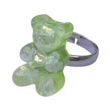 Pop Cutie Gummy Bear Ring Green