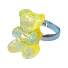 Pop Cutie Gummy Bear Ring Yellow