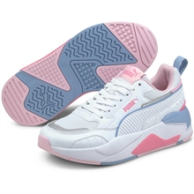 Puma X-Ray 2 Square White/Pink/Blue Sneakers