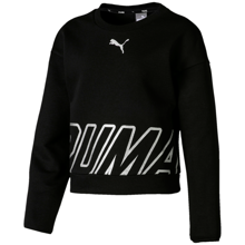 Puma Alpha Crew Sweat Cotton Black