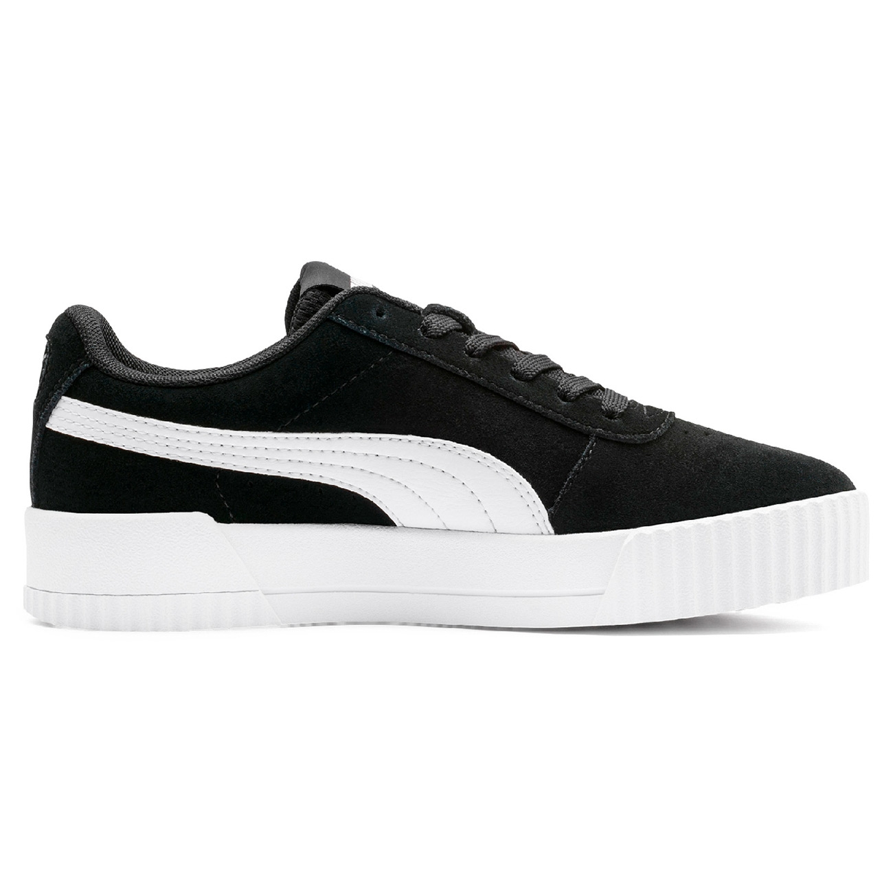 black and white puma sneakers