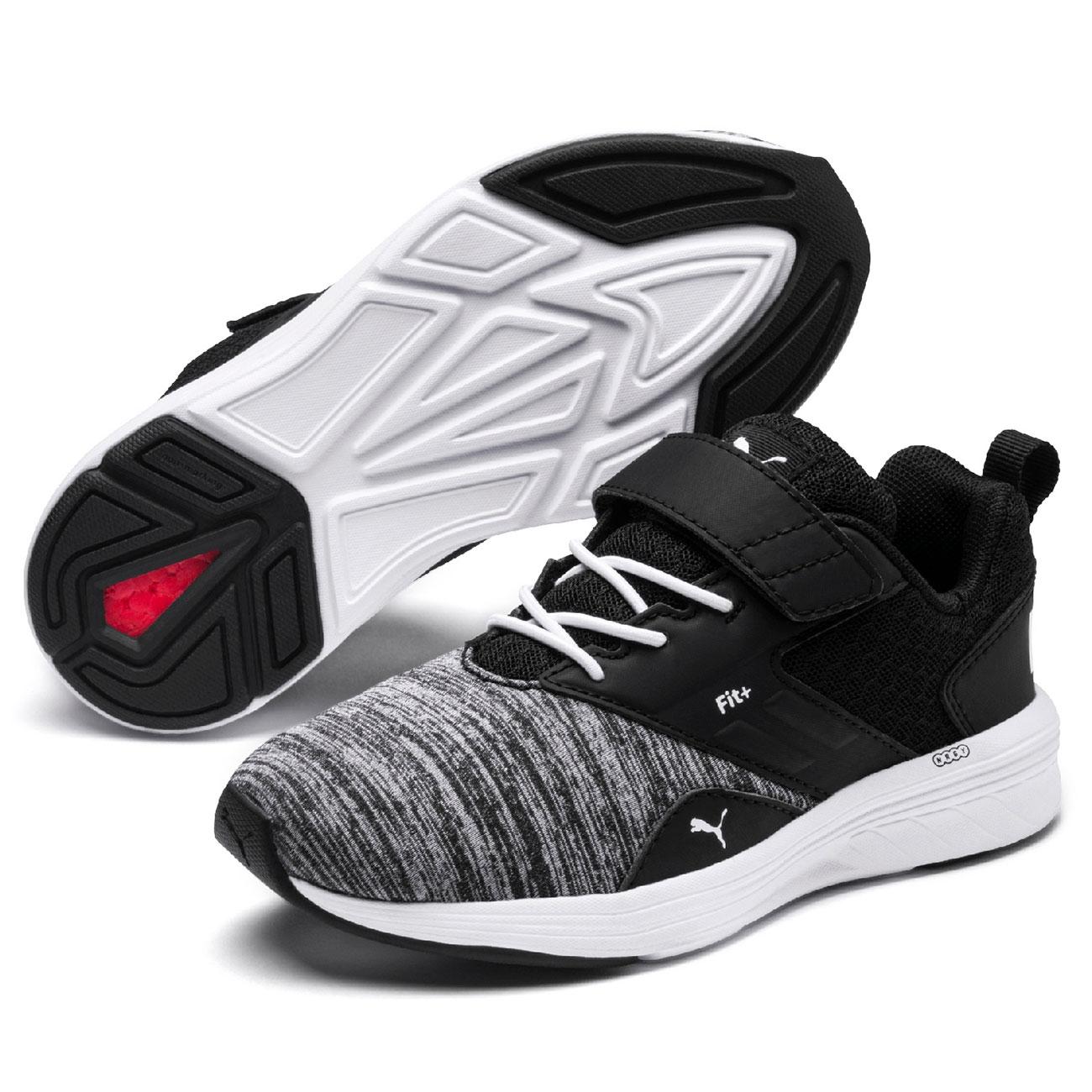 Puma Comet V Infant Sneakers WhiteBlack