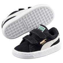 Puma Sneakers Suede 2 Straps Black/White PS