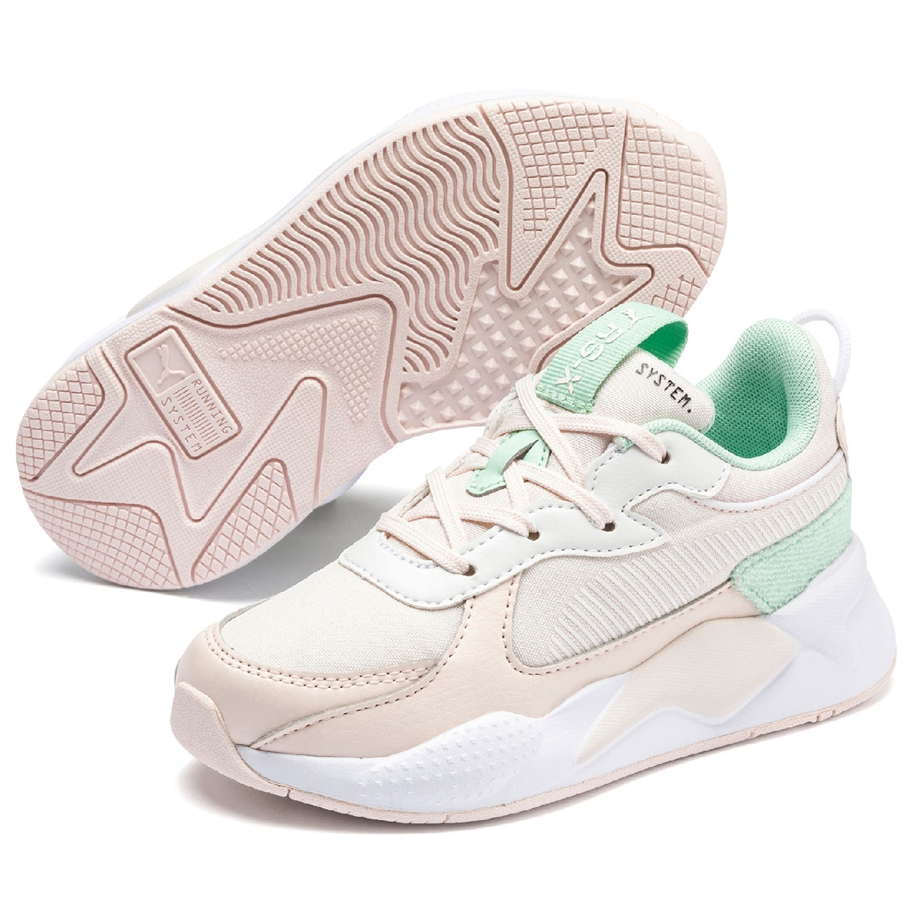 Puma Sneakers RS X Collegiate Mist GreenRosewater