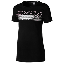 Puma Alpha Logo Tee Cotton Black
